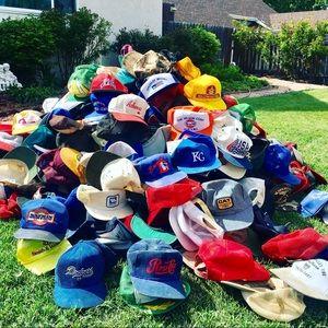 🔥 Vintage Hats - Trucker & Snapback 70s 80s 90s